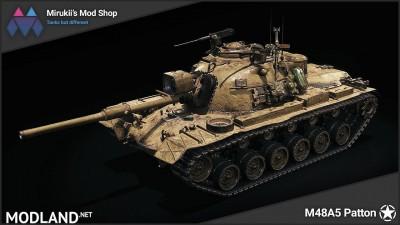 Mirukii's M48A5 Patton Remodel [1.5.1.0]